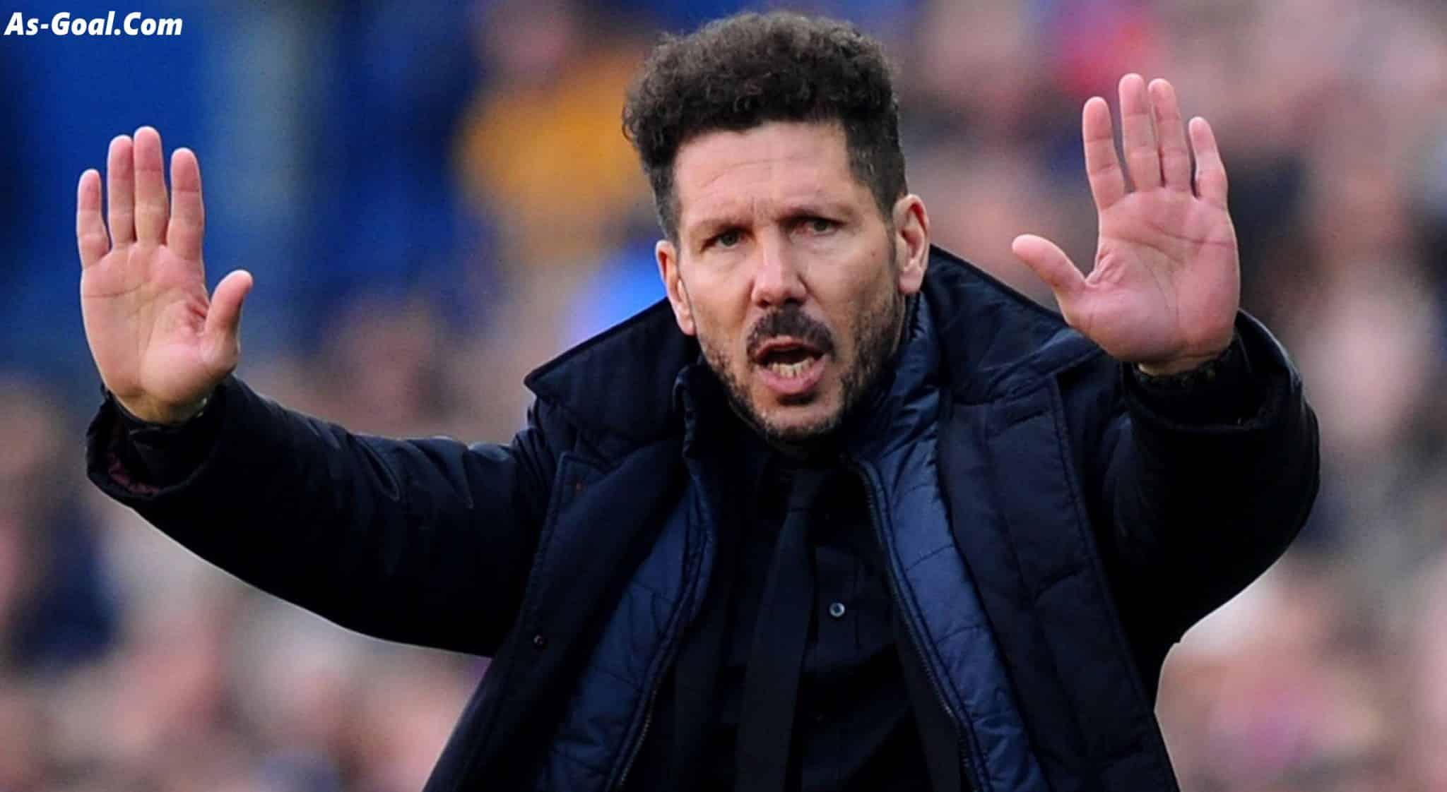 سيميوني: سنحاول تعطيل ليفربول.. ومحمد صلاح لاعب استثنائي